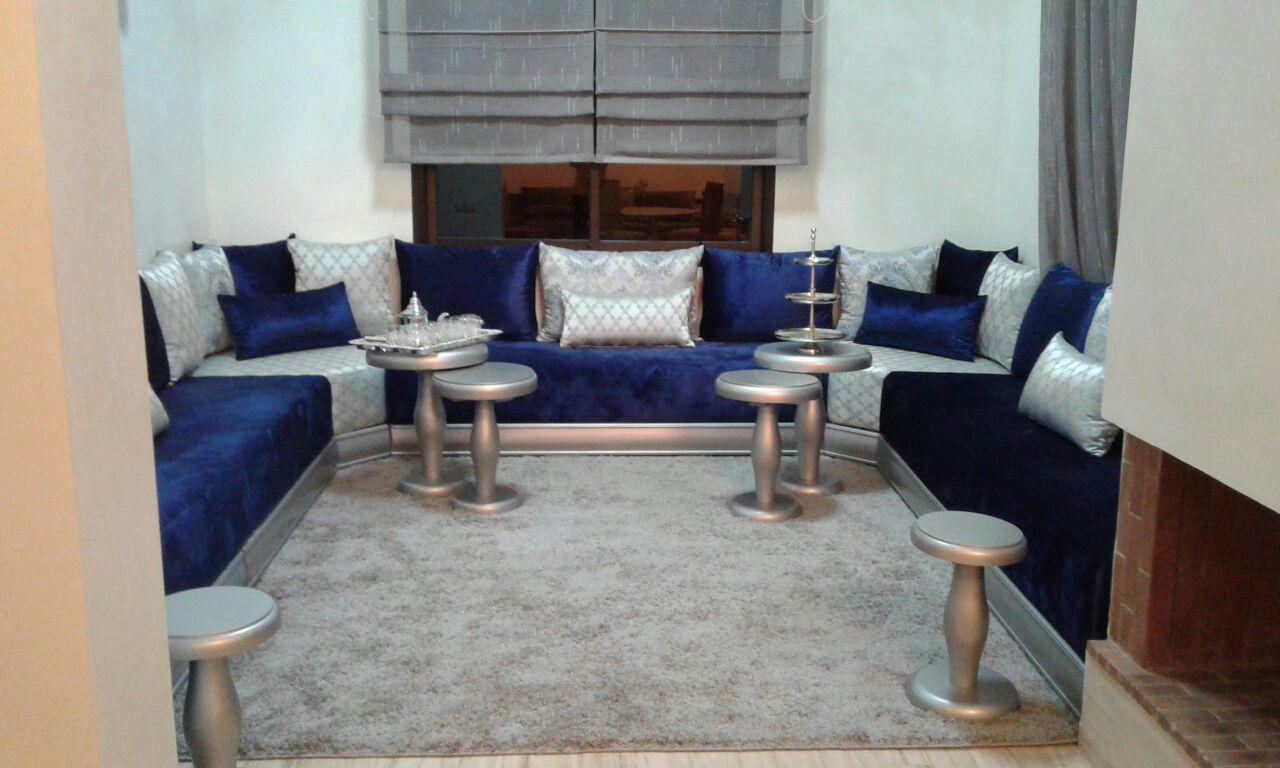 Meridienne Moderne Pour Salon salon marocain, salon beldi | gotshopy